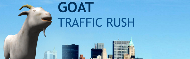 goat traffic rush slider